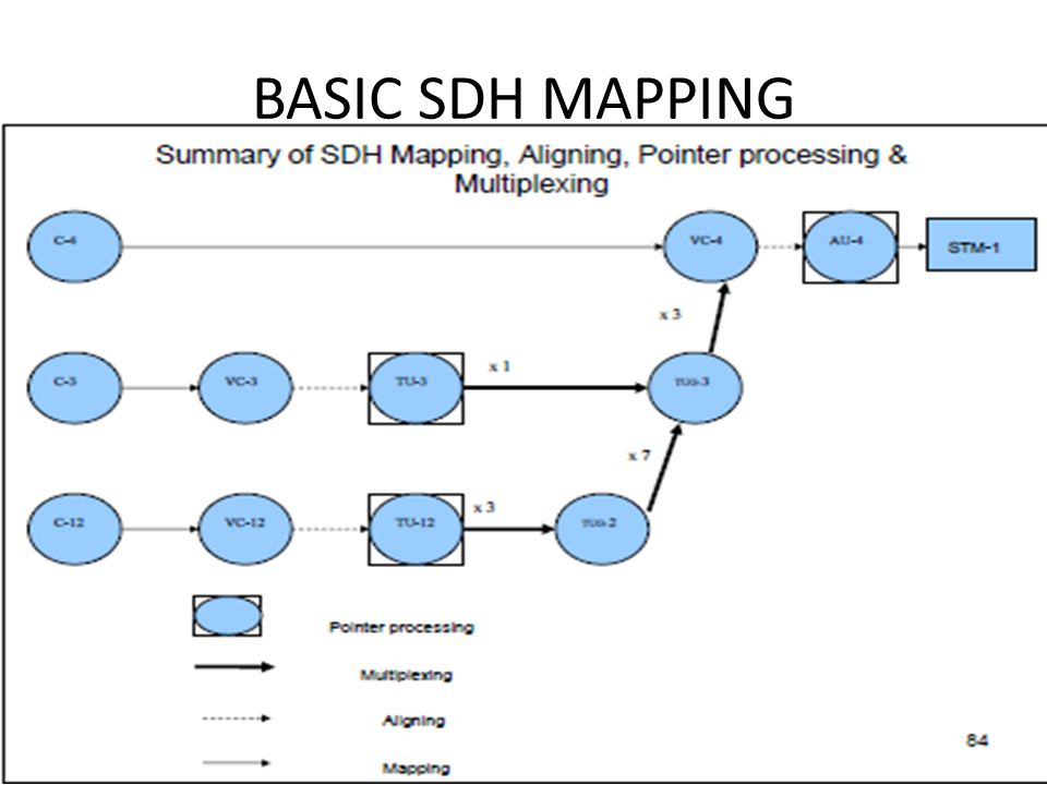 BASIC SDH MAPPING