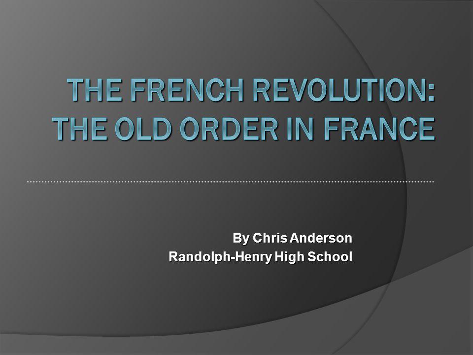 By Chris Anderson Randolph-Henry High School