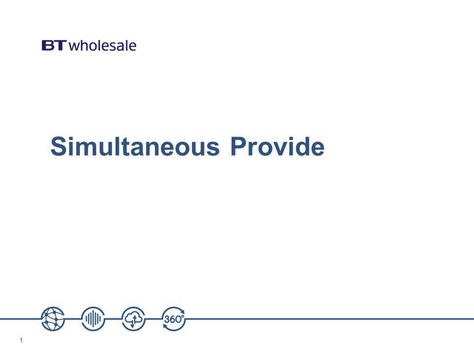 11 Simultaneous Provide