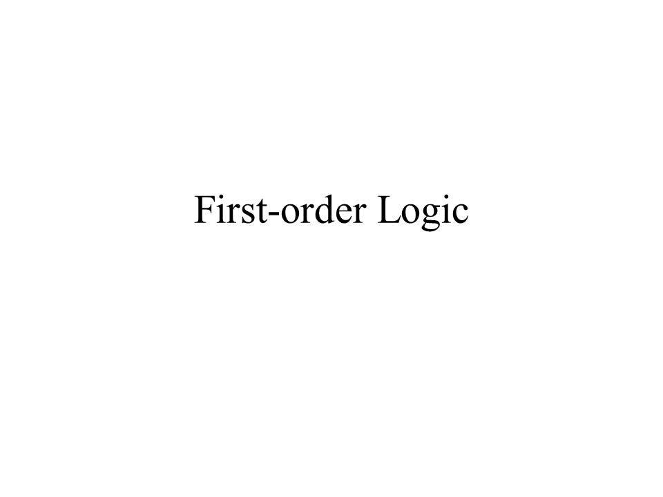 Assertions; t/f Epistemological commitment Ontological commitment t/f/u Deg belief facts Facts Objects relations Prop logic Prob prop logic FOPCProb FOPC