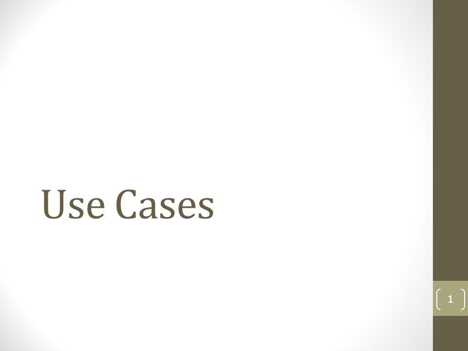 Use Cases 1