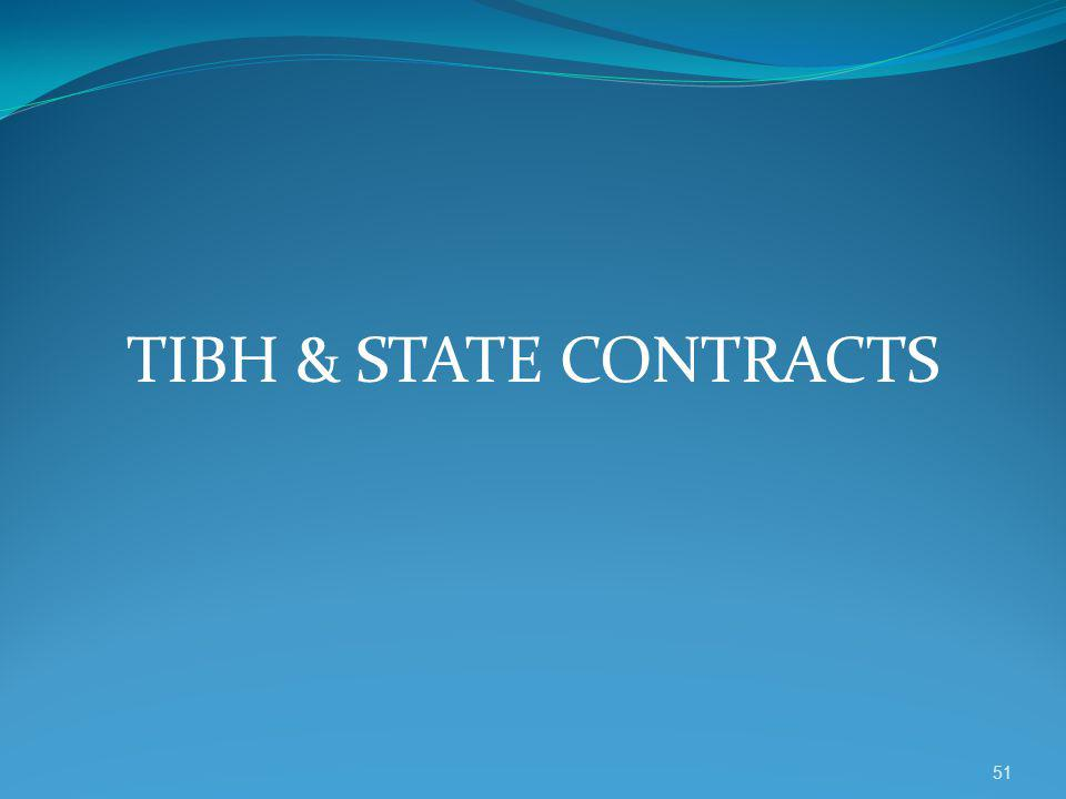 TIBH & STATE CONTRACTS 51