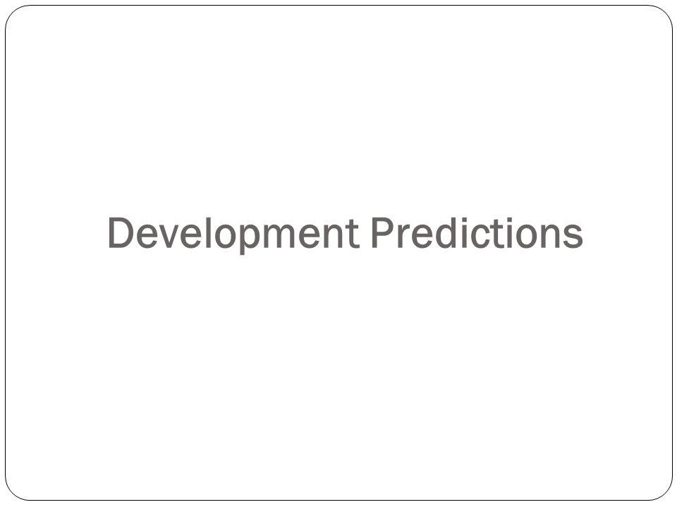 Development Predictions
