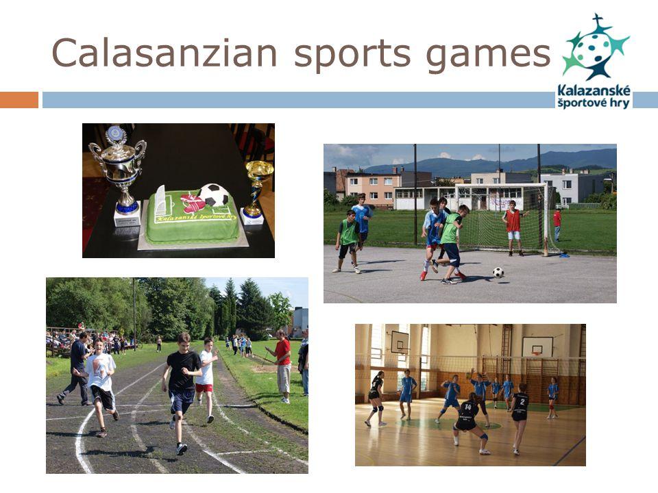 Calasanzian sports games