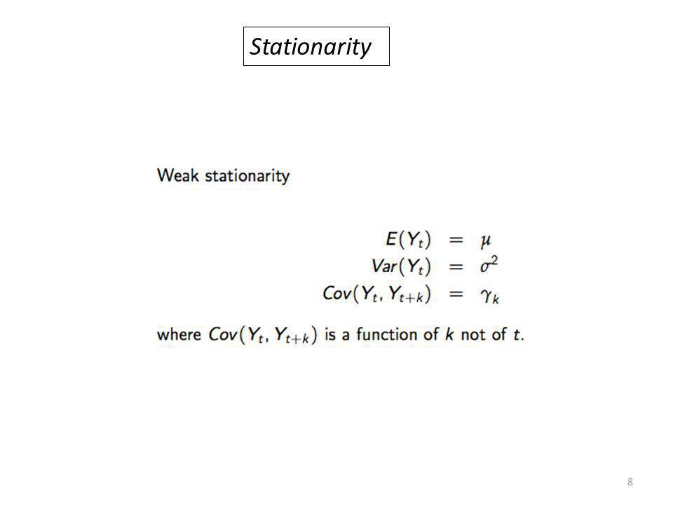 Stationarity 8