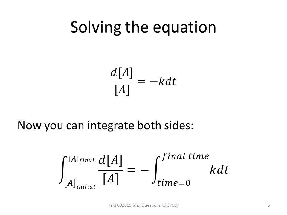 Solving the equation Text 692019 and Questions to 376076