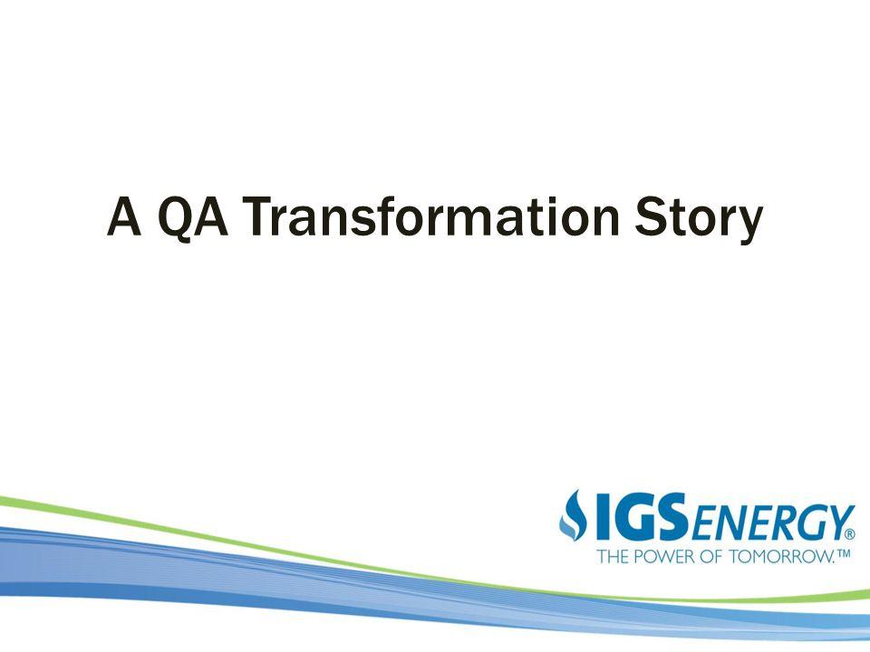 A QA Transformation Story