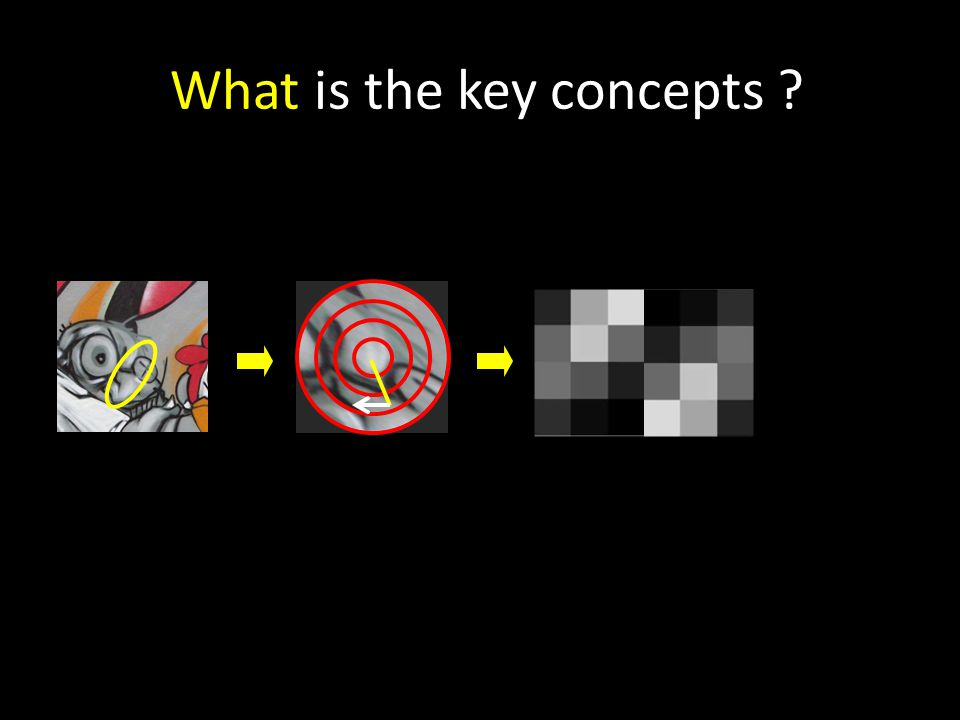What is the key concepts