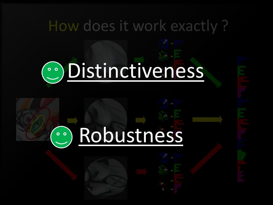 Robustness Distinctiveness