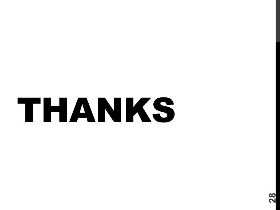 THANKS 28