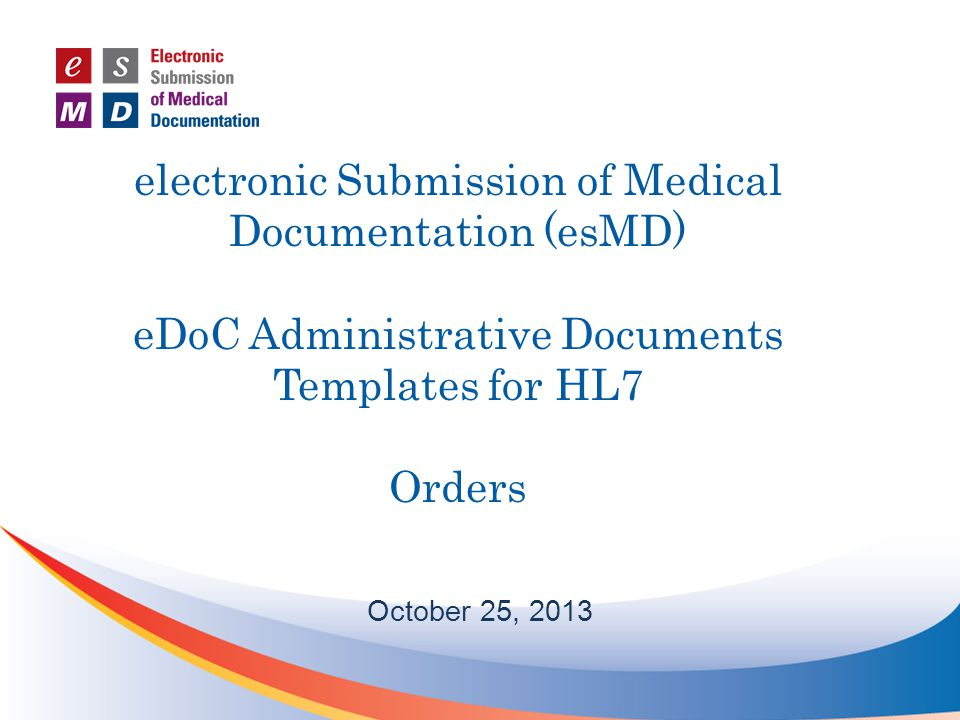 Created by clinicians during the course of care as a written or electronic order Written orders entered by support staff into EHR Communication with order recipient made if necessary Orders are the in progress –Other statuses – active, incomplete, pending, canceled Completed orders Orders may or may not be completed during the episode of care Order may not be fulfilled within a providers organization or by another entity Orders Overview 2