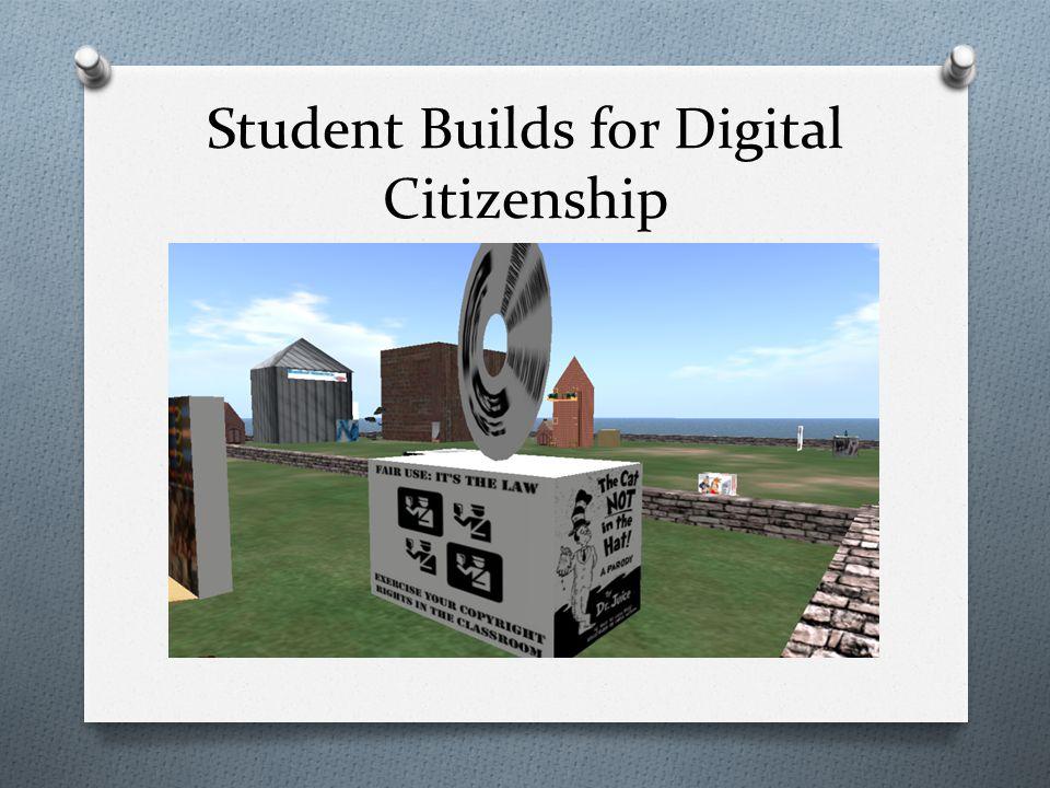 Student Builds for Digital Citizenship