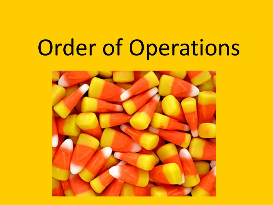 Order of Operations