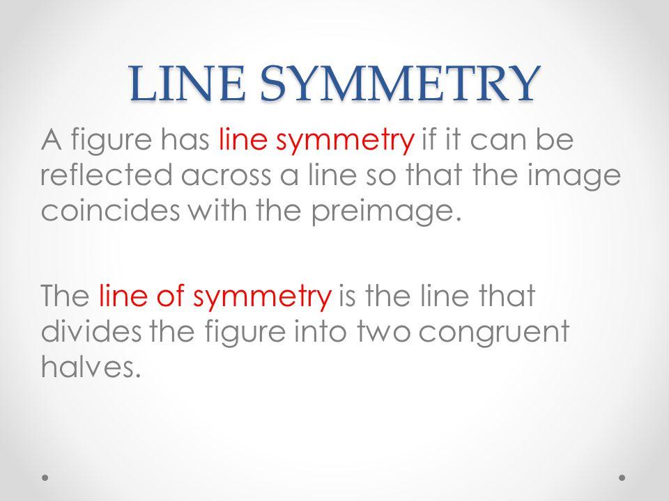 LINE SYMMETRYROTATIONAL SYMMETRY