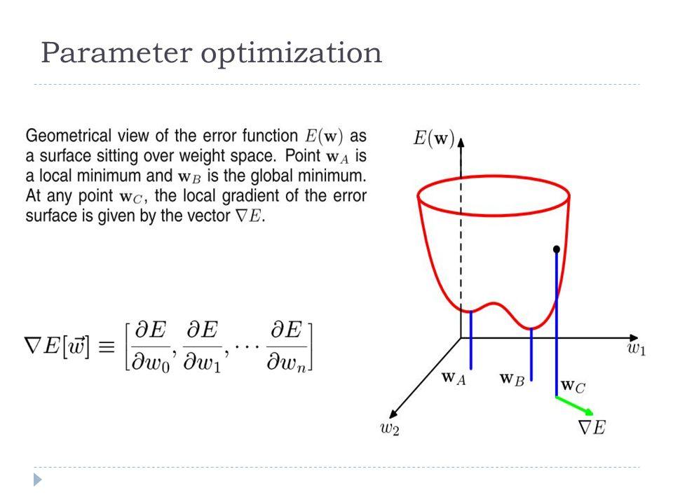 Parameter optimization