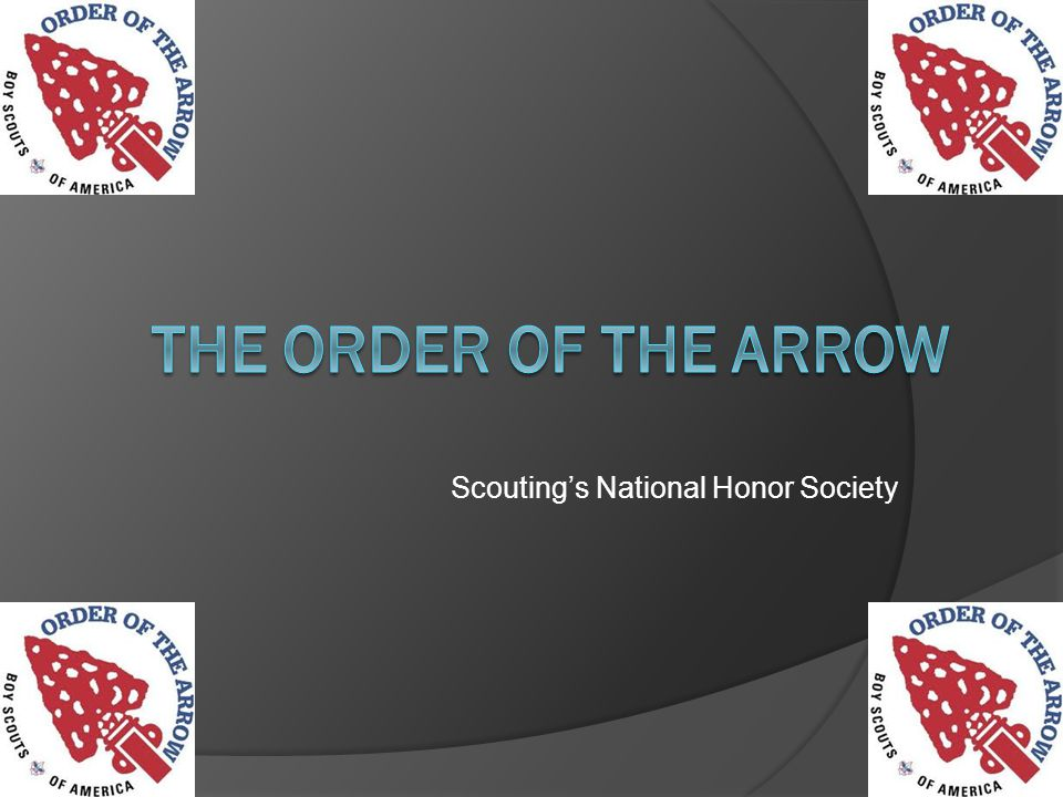 Scoutings National Honor Society