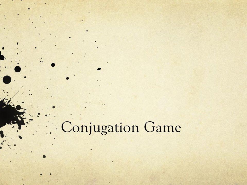 Conjugation Game