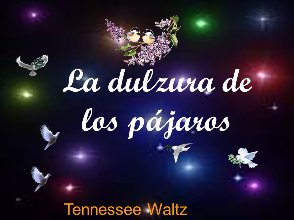 and the Tennessee Waltz En grand ou en…