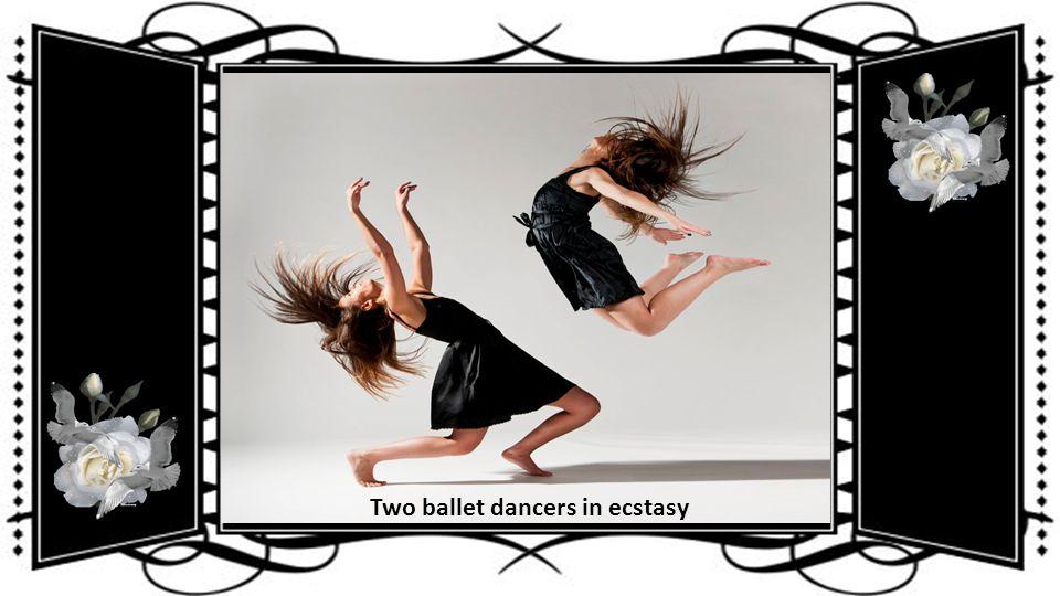 The dancer in full flow