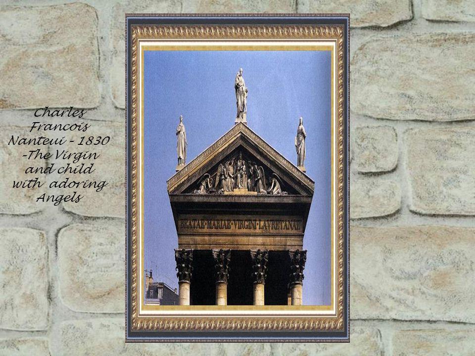 Paolo Romano – 1465-70-Tomb of II – San Andrea della Valle