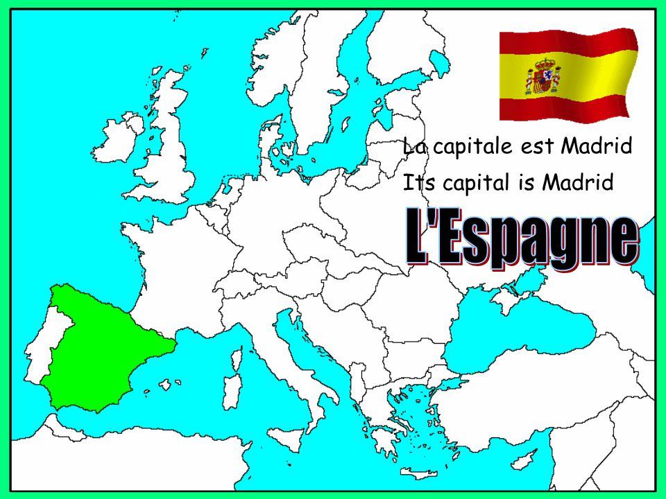 La capitale est Madrid Its capital is Madrid