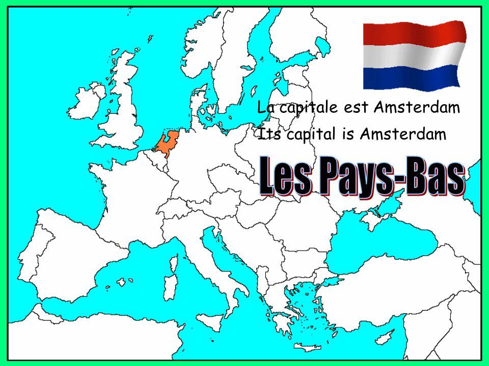 La capitale est Amsterdam Its capital is Amsterdam