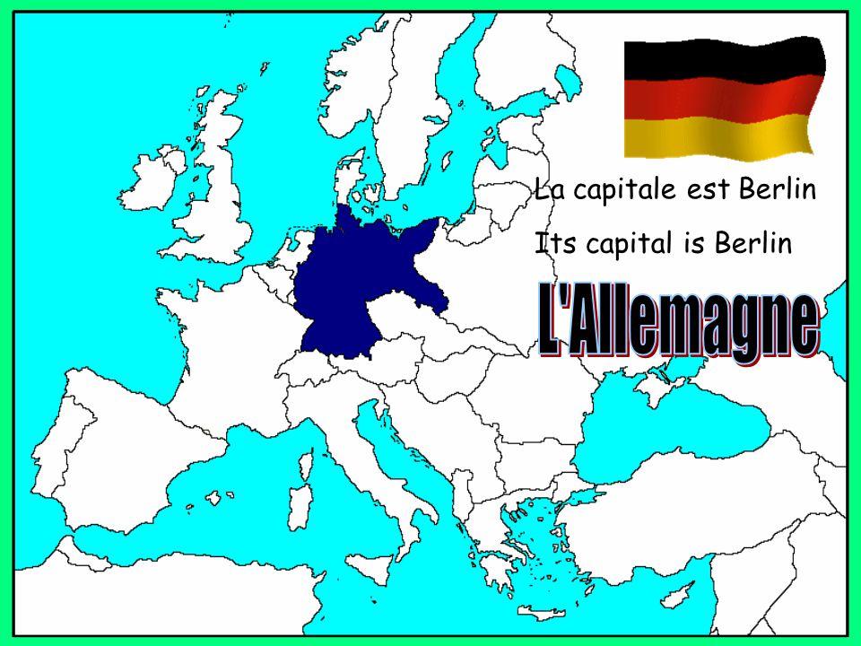 La capitale est Berlin Its capital is Berlin