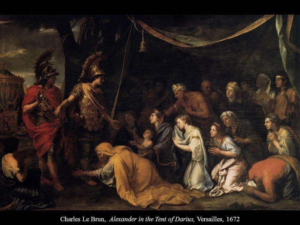 Charles Le Brun, Alexander in the Tent of Darius, Versailles, 1672