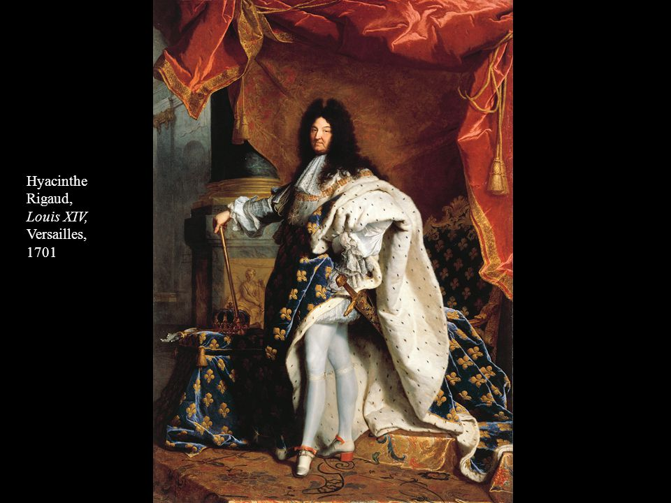 Hyacinthe Rigaud, Louis XIV, Versailles, 1701