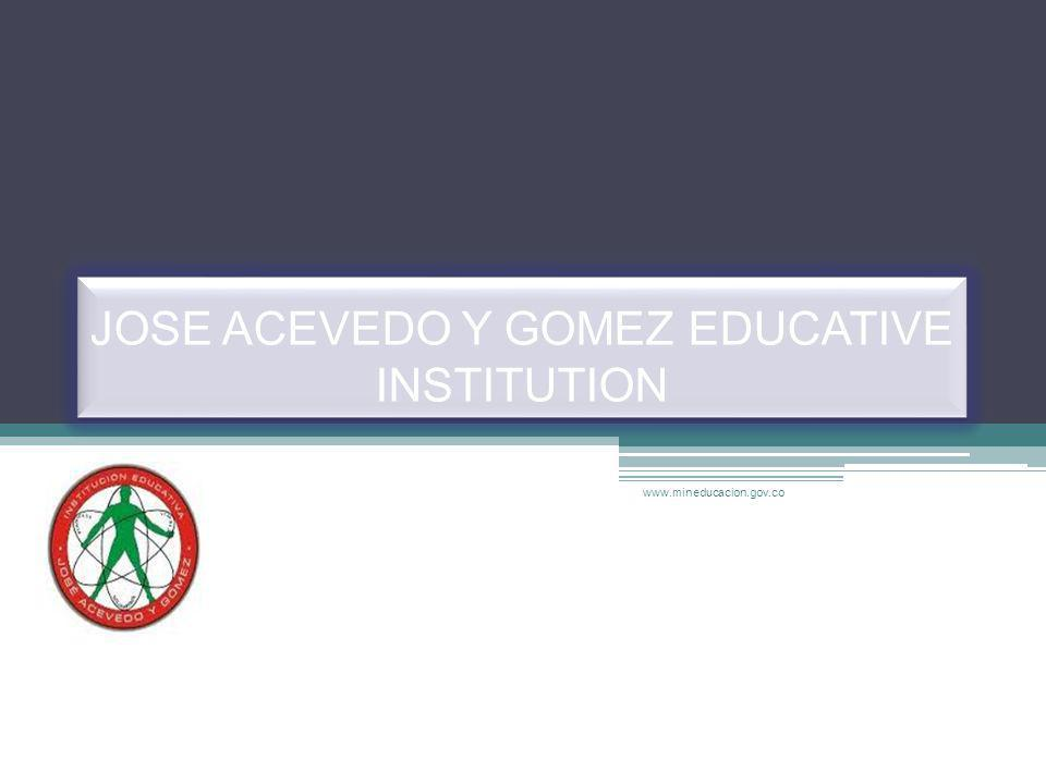 JOSE ACEVEDO Y GOMEZ EDUCATIVE INSTITUTION