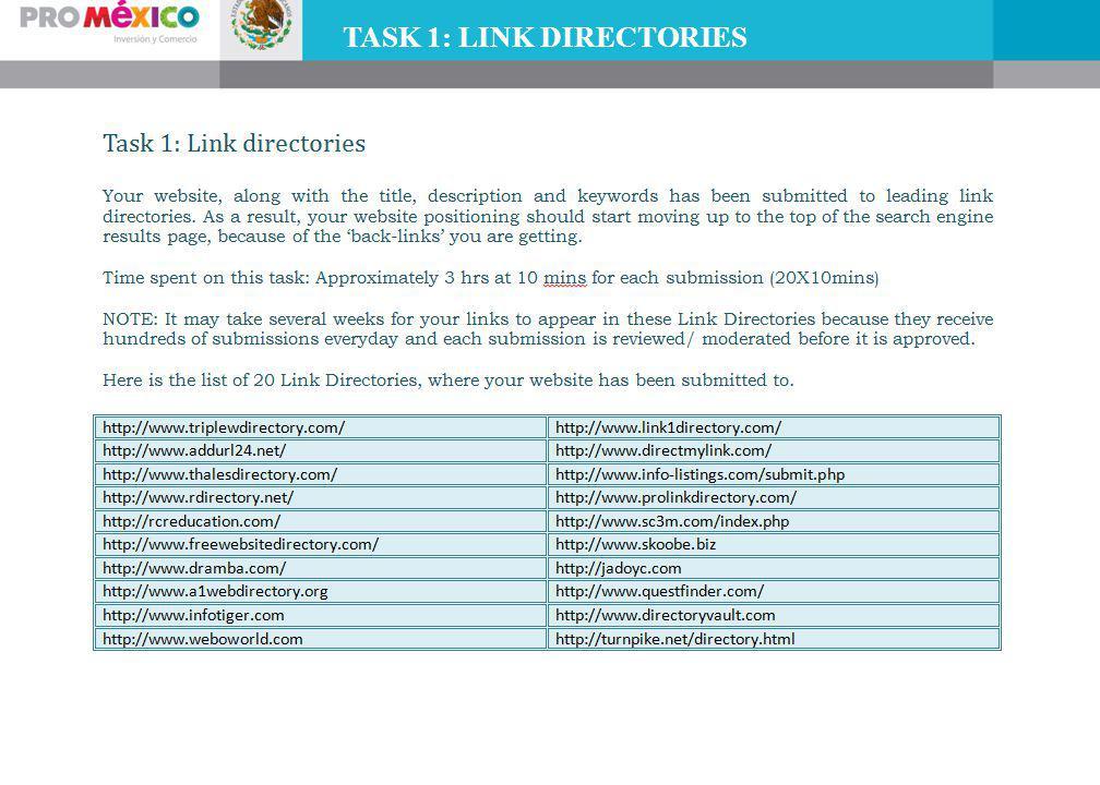 TASK 1: LINK DIRECTORIES
