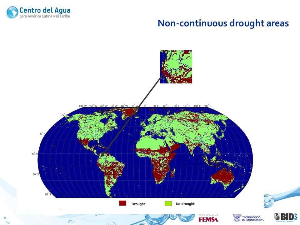 Non-continuous drought areas January 30, 1963 WaterGap, subsurface flow (Qsb)