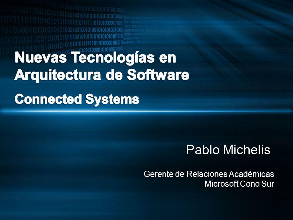 Pablo Michelis Gerente de Relaciones Académicas Microsoft Cono Sur