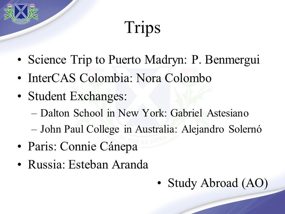 Rendimiento 2012 IGCSE & Académico 80% of marks A* - C 24 students with 4 or more A*-A Students in: –December: 67 –February: 28 –Previas: 6 Inasistencias 21 alumnos con 10 inasistencias o más.