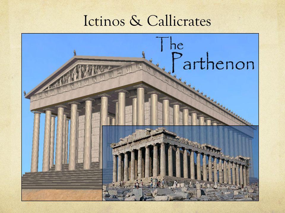 Ictinos & Callicrates