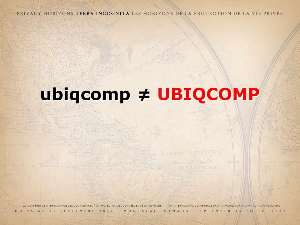 ubiqcomp UBIQCOMP