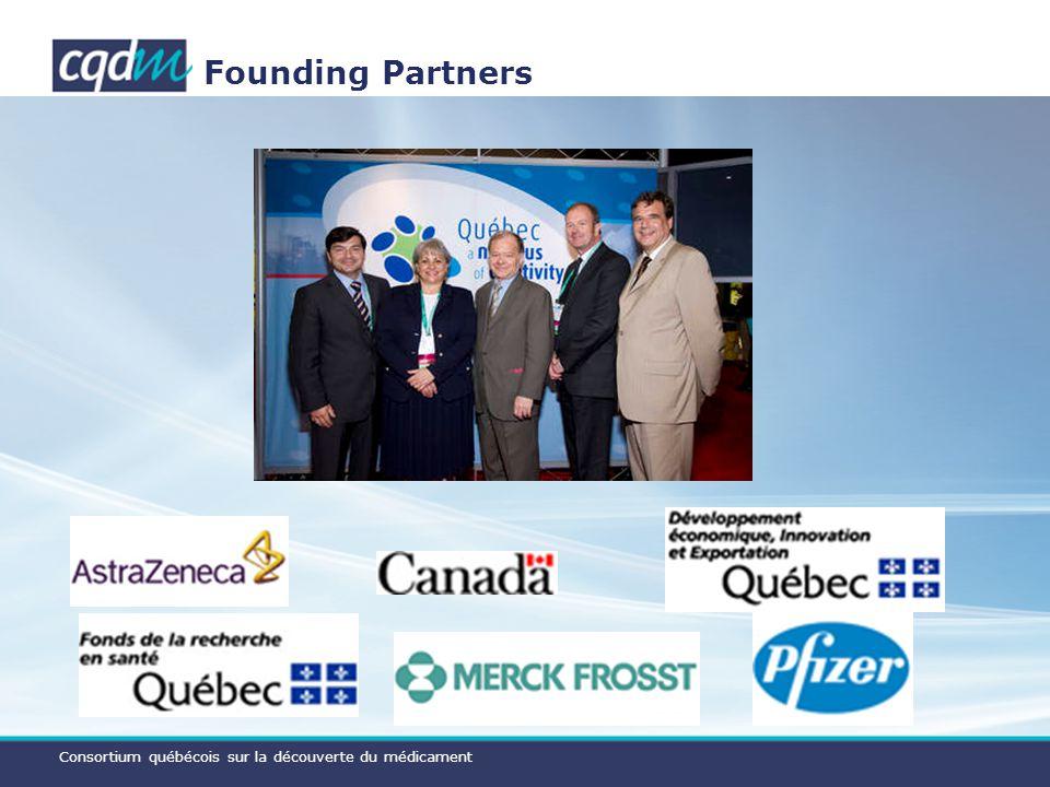 Consortium québécois sur la découverte du médicament Founding Partners