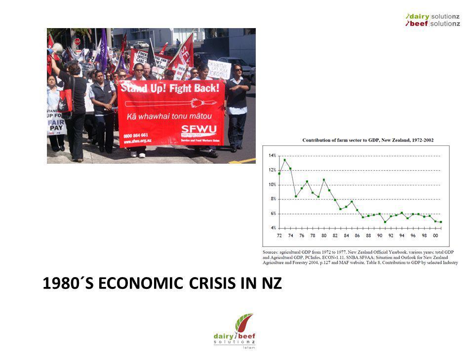 1980´S ECONOMIC CRISIS IN NZ