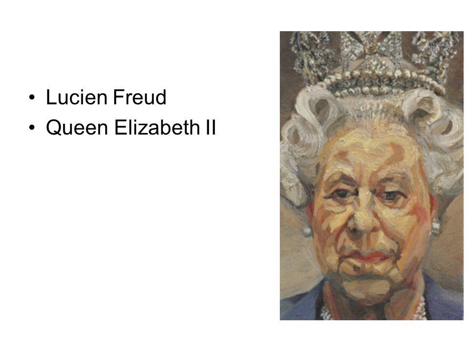 Lucien Freud Queen Elizabeth II
