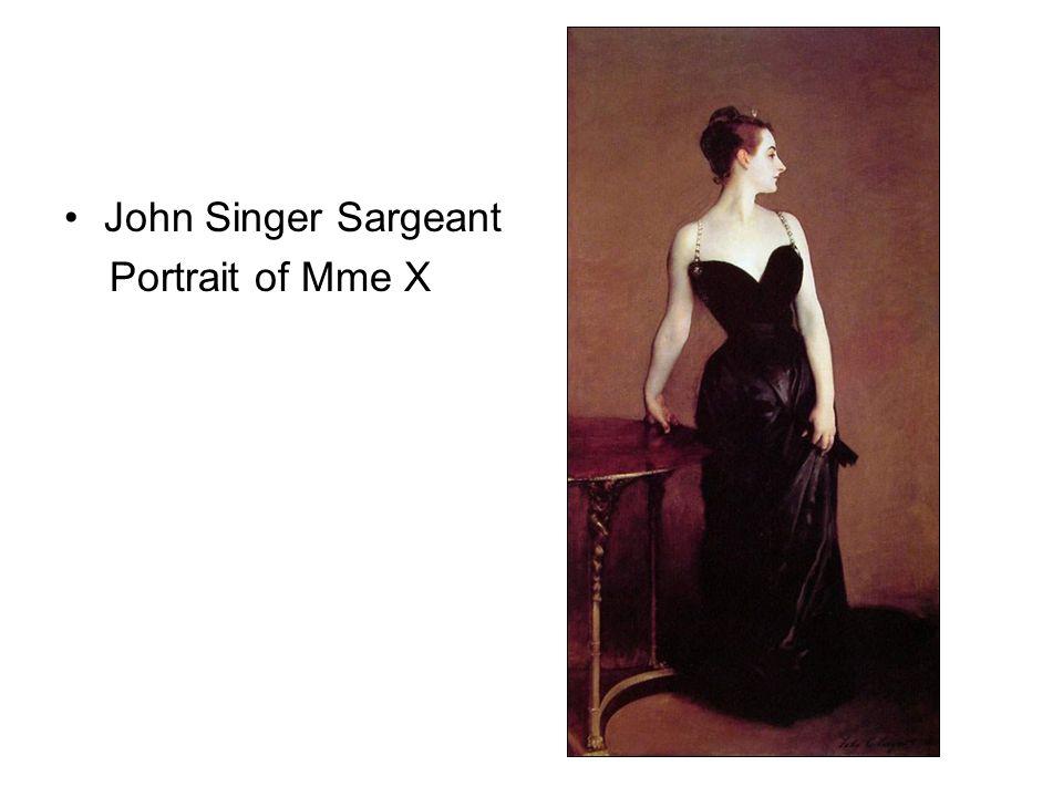 John Singer Sargeant Portrait of Mme X