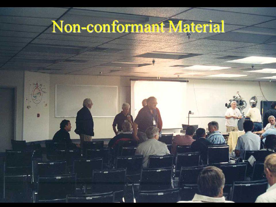 Non-conformant Material