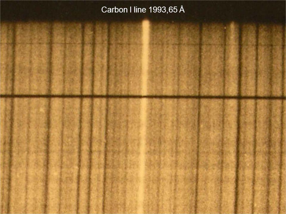 Carbon I line 1993,65 Å