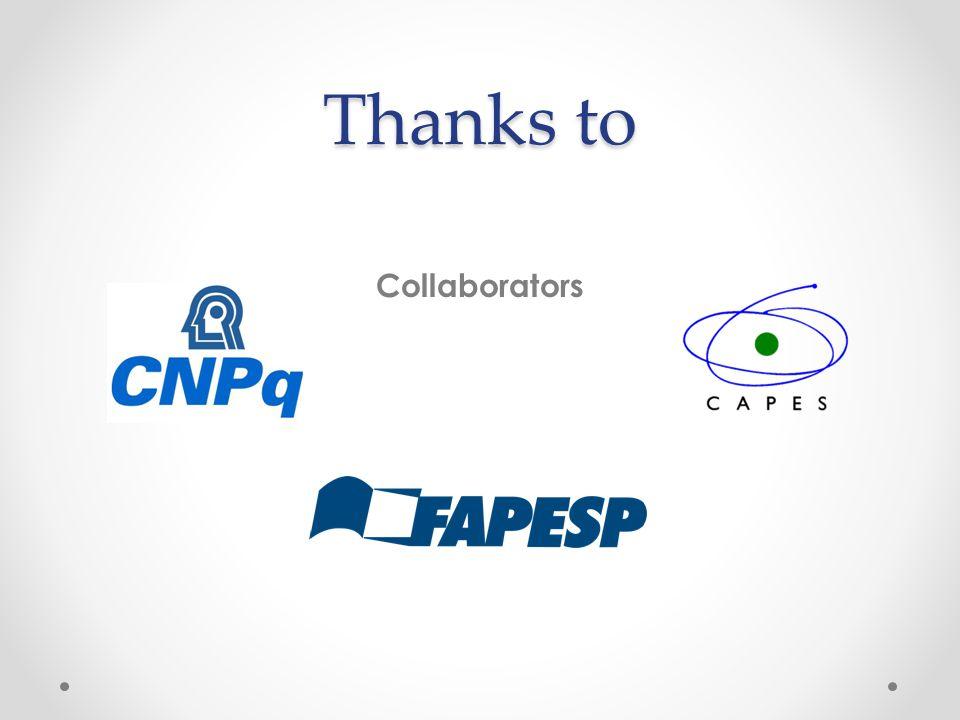 Thanks to Collaborators