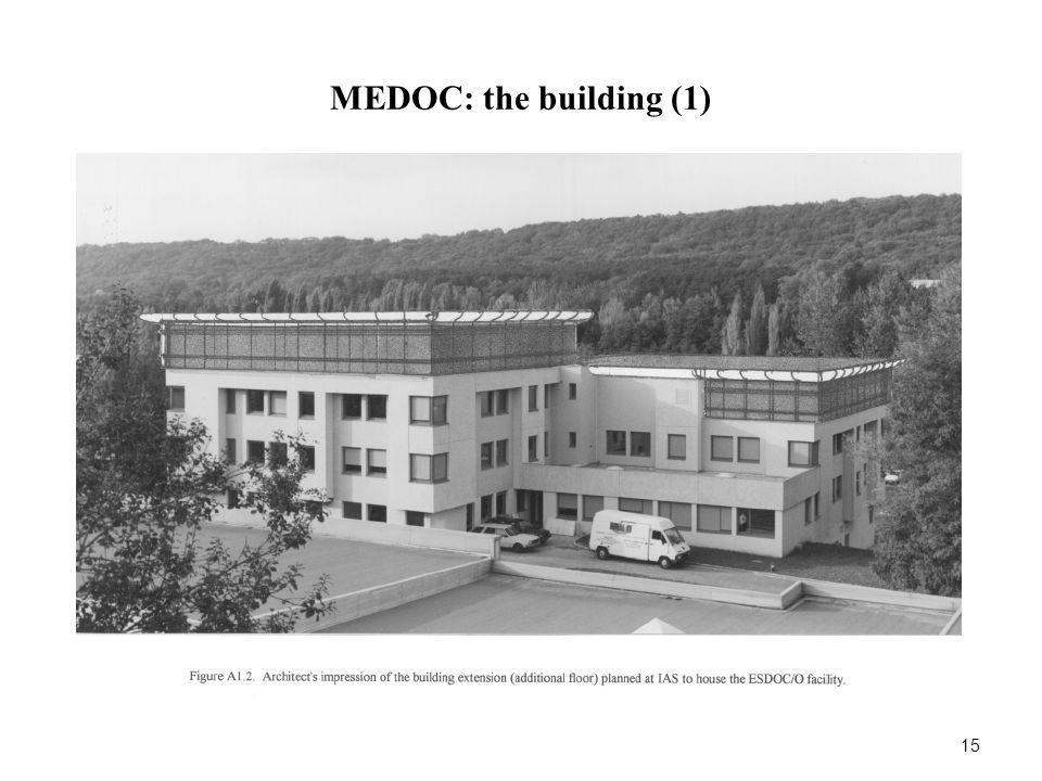 MEDOC: the building (1) 15