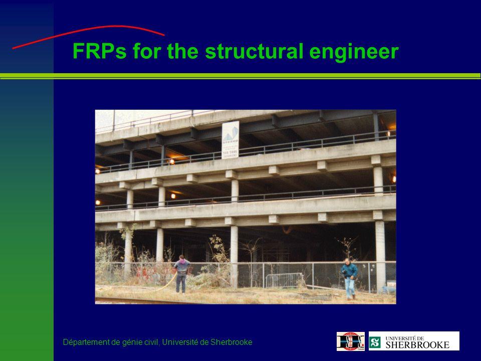 Département de génie civil, Université de Sherbrooke Ste-Émélie de l Énergie Bridge –Research description