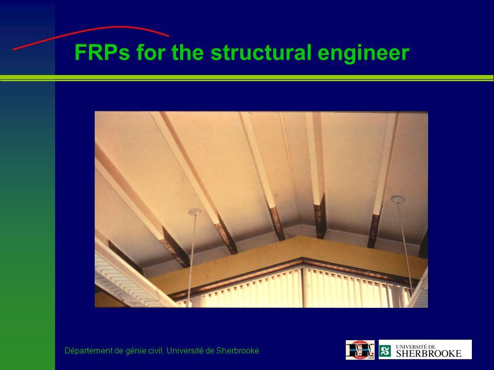 Département de génie civil, Université de Sherbrooke Ste-Émélie de l Énergie Bridge –FRP strengthening of the bridge