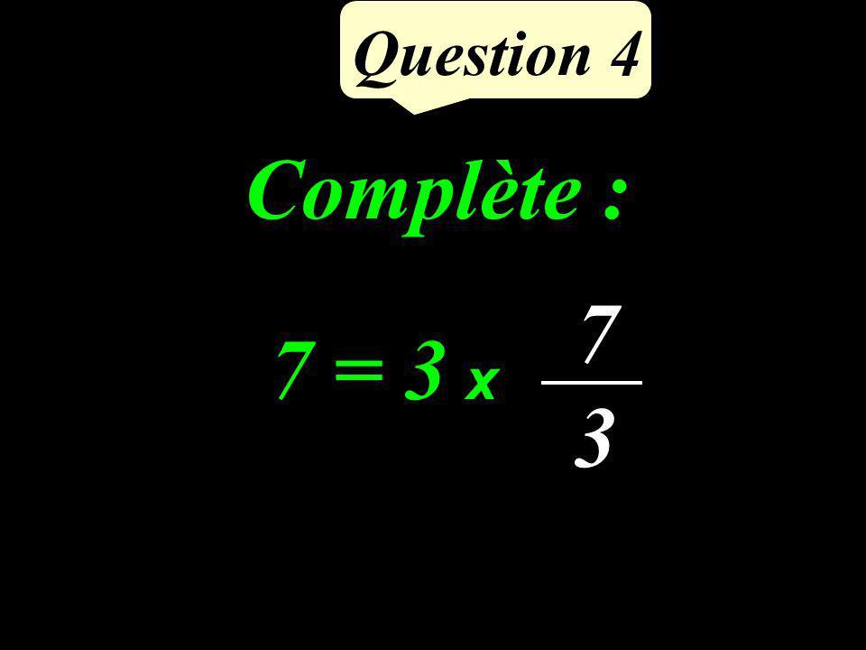 Question 3 -32 (-15) + (-17) = Calculer lasomme de -15 et -17