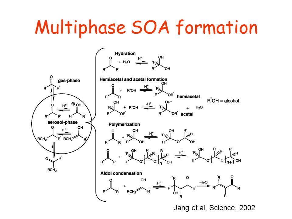 Multiphase SOA formation Jang et al, Science, 2002