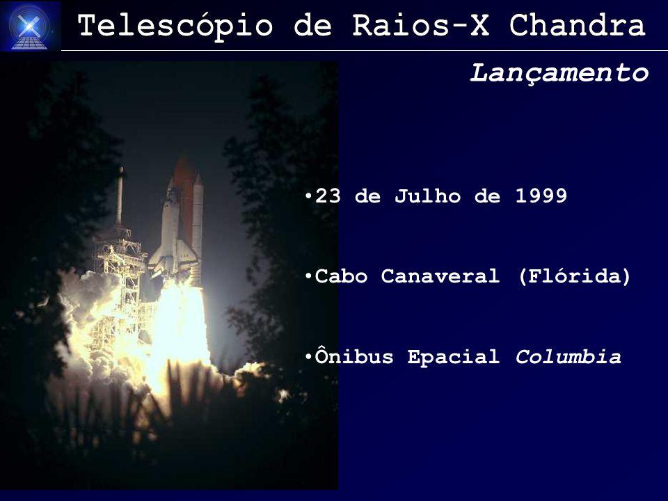 Lançamento 23 de Julho de 1999 Cabo Canaveral (Flórida) Ônibus Epacial Columbia