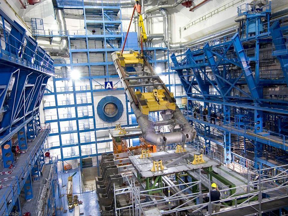 24-04-0913Global collaboration Hans Hoffmann, CERN honorary